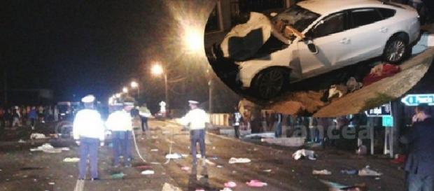 Accident tragic în județul Vrancea