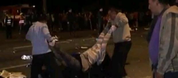 Grav accident rutier in Vrancea