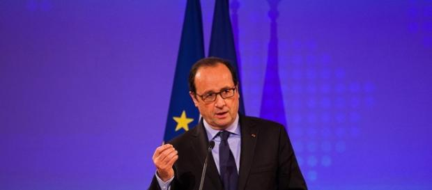 Il presidente François Hollande