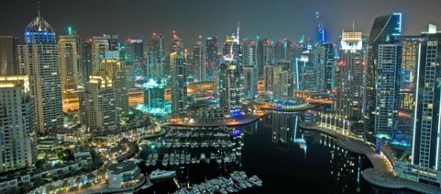 Imagem da incrível vida noturna em Dubai