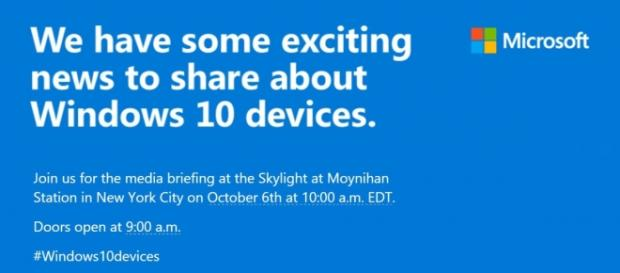 Stay tuned for Microsoft #Windows10devices Event