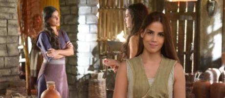 Pérola Faria é Déborah em 'Os Dez Mandamentos'