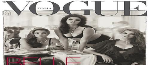 Curvy Style, la copertina di Vogue