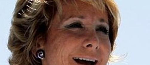 Esperanza Aguirre, la dama de hierro