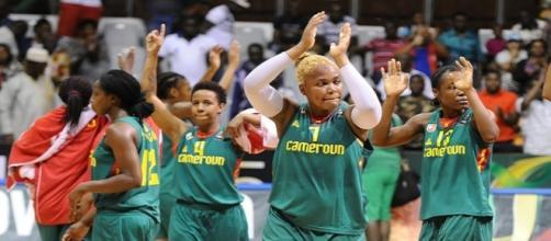 l'équipe de basket du Cameroun
