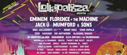 Line up del Lollapalooza en Argentina 2016