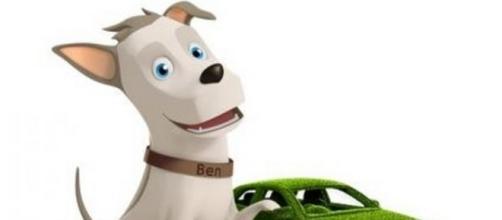 """Logo della compagnia assicurativa """"Ben"""""""