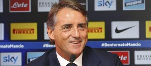 Roberto Mancini, allenatore dell'Inter