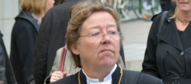 Eva Brunne, biskup Sztokholmu.
