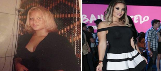 Geisy Arruda antes e depois da fama