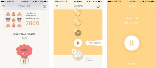 Headspace, la mejor app de meditación