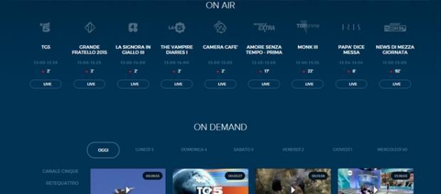 Mediaset in diretta streaming 24h su 24, le info