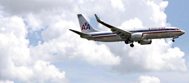 Pilota muore a bordo del volo AA550