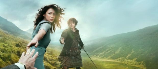 """Plakatmotiv zur Serie """"Outlander"""""""