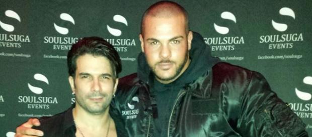 Popsänger Marc Terenzi wird geschützt von Manuel