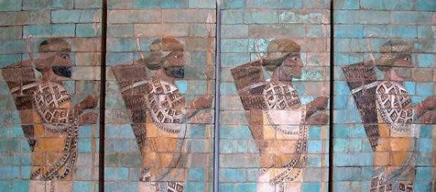 Representación artística del Antiguo Oriente.