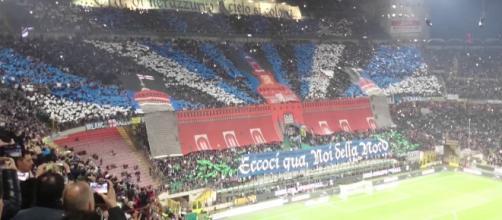 La Curva Nord, cuore del tifo dell'Inter