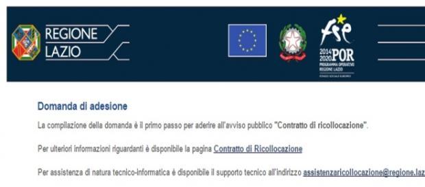 Contratto ricollocazione disoccupati Lazio