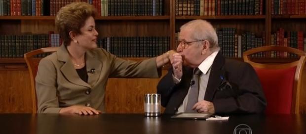 Jô defende Dilma e leva rasteira de Adnet na Globo