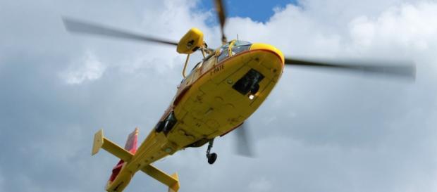 Servirà un elicottero per il recupero della donna