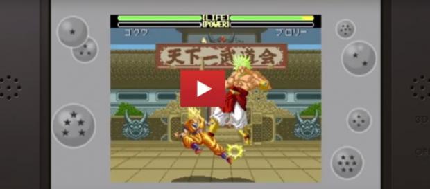 Trailer oficial del juego, Goku contra Broly