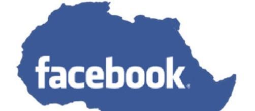 Facebook giunge in Africa dallo spazio