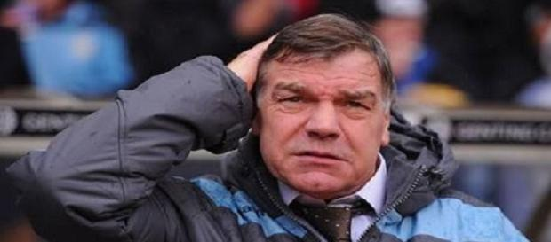 Big Sam Allardyce weighs up his options.