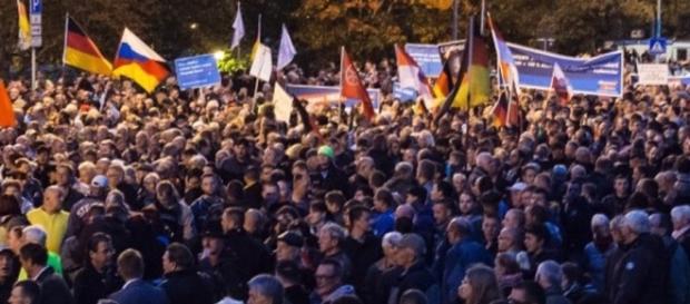 Demonstracja w Erfurcie zgromadziła 8 tys. ludzi