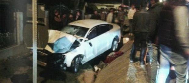 Diana Dinu, implicata intr-un grav accident rutier