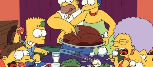 Foto 'de familia' de los Simpson.