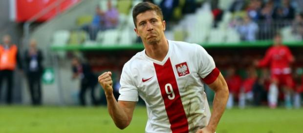 Lewandowski strzelił dwa gole w meczu ze Szkocją