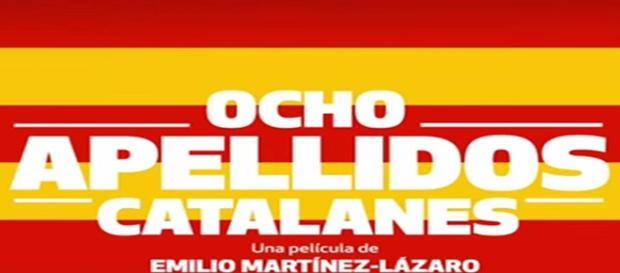 Póster de 'Ocho apellidos catalanes'