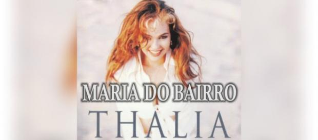 Thalía é a protagonista de 'Maria do Bairro'