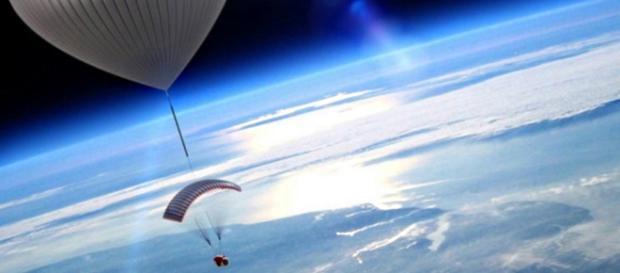 Turismo spaziale in pallone con WorldView