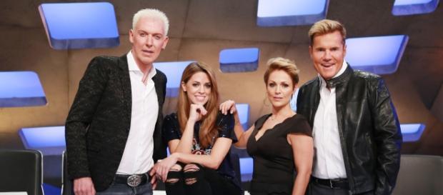 (v.l.) Scooter, Vanessa, Michelle und Dieter