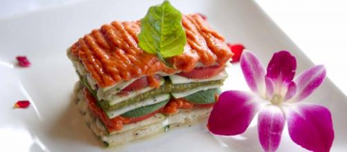 Lasagna raw Food, dieta de moda