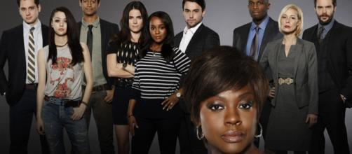 Viola Davis and cast 'How to get away with Murder'