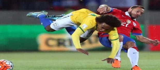Chile mostrou força diante do Brasil na estreia