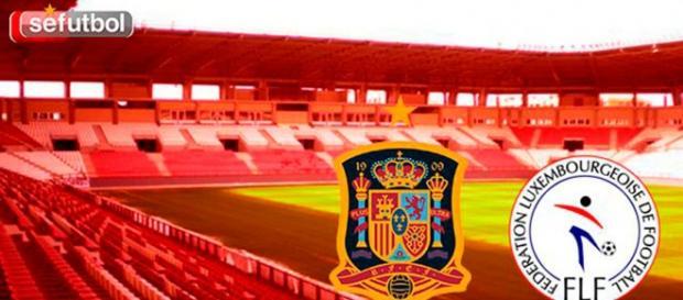 España derrota por 4 goles a cero a Luxemburgo