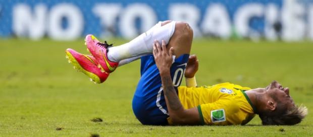 Neymar, una ausencia clave para Brasil.