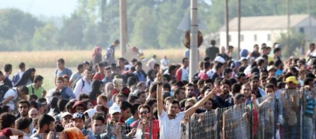 Refugiados recusados por grande parte da Europa.