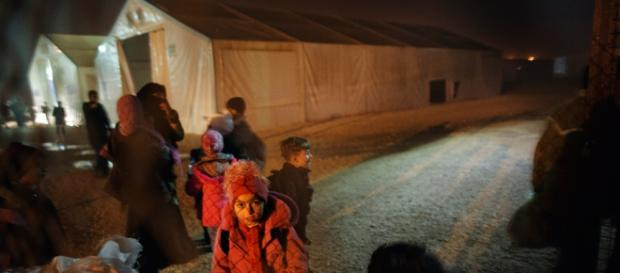 siria refugiati iarna migranti