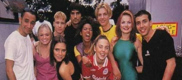 Spice Girls e Backstreet Boys insieme
