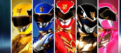 Imagen de los Power Rangers Megaforce