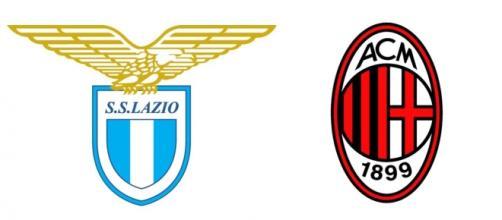 Gli scudetti di Lazio e Milan.