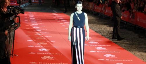 Juliette Binoche en la alfombra roja de SEMINCI
