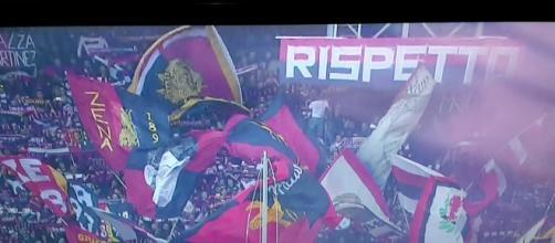 Lo spettacolo della Nord contro il Napoli