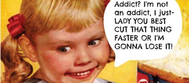 Anuncio de EE.UU. con una niña adicta al queso