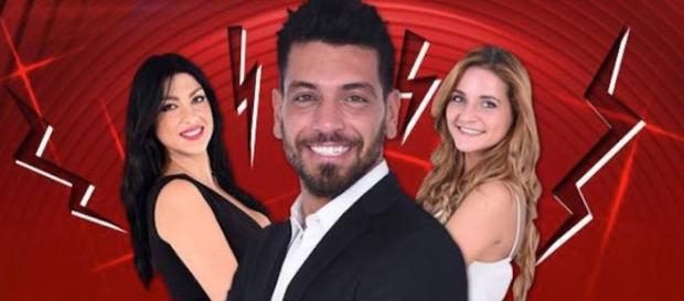 Federica ,Lidia e Alessandro, concorrenti del GF