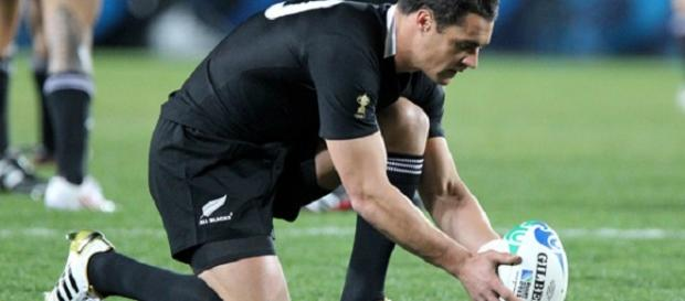 Man of the match display by Dan Carter